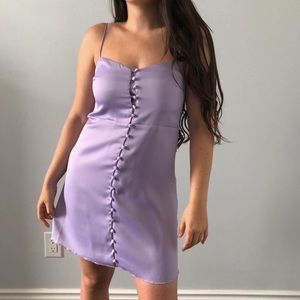 NWT Urban Outfitters - Satin Slip On Dress